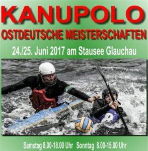 Ostdeutsche Meisterschaften im Kanupolo @ Glauchau | Sachsen | Deutschland
